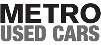 Metro Use Cars logo in Black and Grey